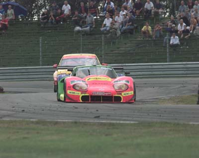 LM600 at Zolder for Belcar round