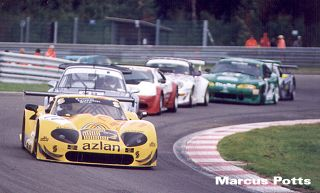 Purvis leads a gaggle at Spa